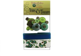 Trims and treasures electric blue