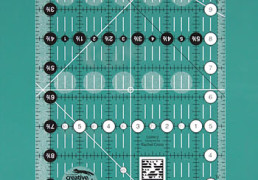"Regla de Creative grids de 6 1/2"" x 12 1/2"""