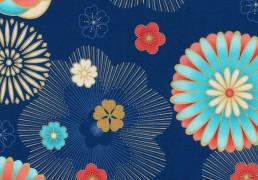 Telas de patchwork de Robert Kaufman Fabrics, Satsuki 4
