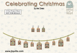 Celebrating Christmas Garland