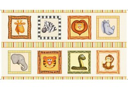 Jungle buddies de Quilting treasures